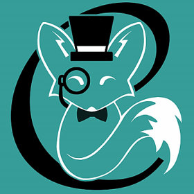 charming little fox logo